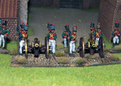 saxon artillery BM